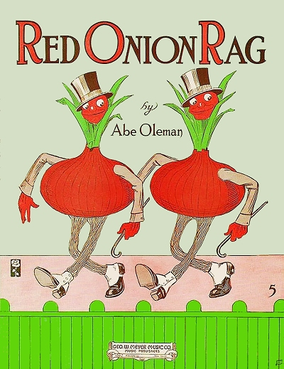 red onion rag cover